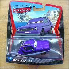 Disney PIXAR Cars 2 DON CRUMLIN Gremlin Purple LEMON diecast #31 GREEN EYES Grem
