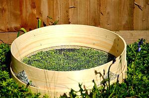 Heavy Duty Garden Riddle  Soil Compost Sieve  - Mesh 2,3,4,6,8mm