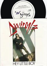 Divinyls ORIG OZ PS 45 Hey little boy EX '88 Chrysalis K508 New wave Alt rock