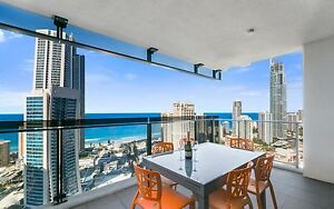 GOLD COAST ACCOMMODATION Circle Apartment 2 Bedroom +Study Ocean 7nts $1400 Wifi