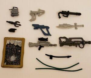 Lot of Vintage TMNT GI JOE HE-MAN MOTU Accessories Toy Weapons