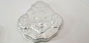 VINTAGE WILTON METAL CAKE MOLD CLOWN 1989