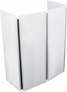 Gibraltar Foundation 4-Panel Folding Screen Plexi Shield - GPRDJ2-FS