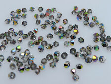 100 PCS GENUINE SWAROVSKI®  5301 / 5328  3mm Crystal Bicone Beads,VITRAIL MEDIUM
