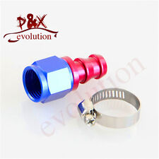 4AN AN4 Straight Oil/Fuel/Gas Line Hose End Push-On Male Fitting Adapter 4-AN