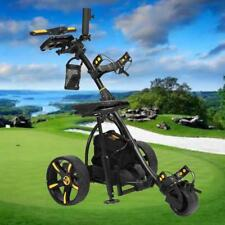3-Wheel Digital Electric Golf Buggy Non Remote Trolley 36 Holes Power Caddy NEW