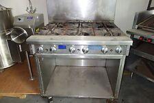 Imperial Range - 6 Open Top Burners With a open cabinet below- Model # IR-6-XB