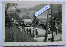 Foto mit LKW Unfall an der Maas.(O)