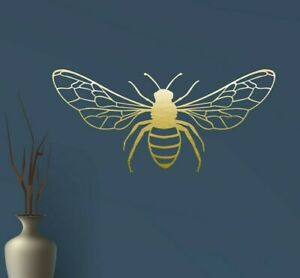 Gossamer Wing Bee, Wasp, Insect, Decal Sticker - Wall Art Decoration