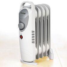 800W Mini Portable Lightweight Oil Filled Radiator Thermostat 800 Watt Heater