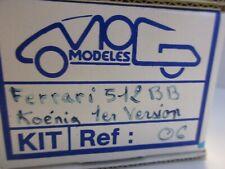 MOG MODELS 1/43 FERRARI 512 BB KOENIG 1er VERSION 1988 KIT REF.06
