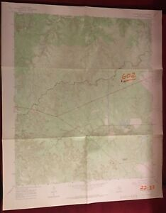 1967 color Topographic map of Buzzard Peak, King County Texas. 7.5 minute series
