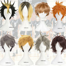 Haikyu Hinata Shoyo Yu Nishinoya Tobio Kageyama Cosplay Wig Short Full Wigs