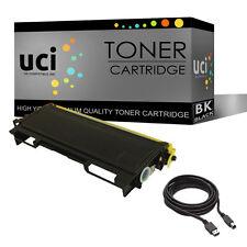 Black Toner Cartridge fits Brother TN2000 HL2030 HL2040 HL2050 & Free USB