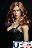 "1/6 Scarlett Johansson Black Widow Head Sculpt For 12"" PHICEN Suntan Figure USA"