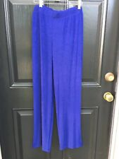 New Soldout Chico's Travelers Dormant Blue Rumba Pant Sz 3 Short = XL 16 18 NWT