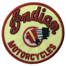 Indian Motorcycles Logo Embroidered Iron On Patch