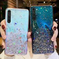 Case For Xiaomi Redmi Note 9S 8 7 Pro 8T Mi 9T A3 Glitter Clear Shockproof Cover
