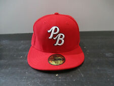 New Era Palm Beach Cardinals Hat Cap Fitted 7 1/2 Minor League Baseball Mens