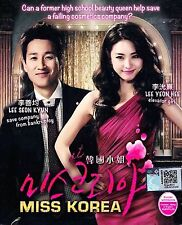 Korean Drama DVD: Miss Korea_Good English Subtitle_FREE Shipping