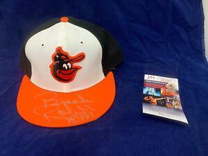 Brooks Robinson Autographed New Era Vintage Hat Pro Model JSA COA #HH25095