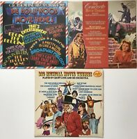 Concerto+Musical+Hollywood Movie Themes Records Vinyl LPs Soundtrack Bundle (2)