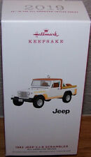 2019 Hallmark Keepsake Ornament 1982 Jeep CJ-8 Scrambler