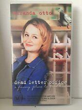 DEAD LETTER OFFICE ~ MIRANDA OTTO & GEORGE DELHOYO ~ RARE AUSTRALIAN VHS VIDEO