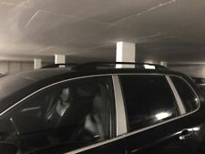Fit For Porsche Cayenne - Roof Rails Side Rails Black Color Pair 2pcs 2003-2010