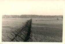 Foto, Panzersperren vor der deutschen Grenze (N)20660