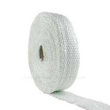EXHAUST WRAP PIPE HEADER THERMO TAPE 25' FOOT ROLL TURBO HEAT SHIELD INSULATION