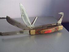 Vintage Pocket Folding Knife for Shepherd Handmade Craftsmanship