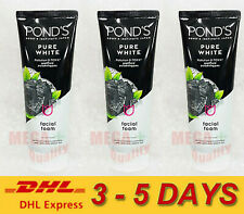 3 x 100 g. POND s Pure White Deep Cleansing Brightening Facial Foam Vit B3