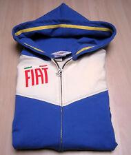 Maglia Fiat Full zip Felpa Sweatshirt F11 Cappuccio NEW