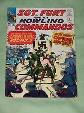 Sgt. Fury & His Howling Commandos # 9 1964 LEE & AYERS! VG-FINE CONDITION