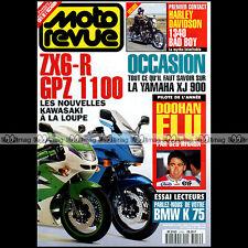 MOTO REVUE N°3159 YAMAHA XJ 900 KAWASAKI ZX-6R & GPZ 1100 HARLEY BAD BOY 1994