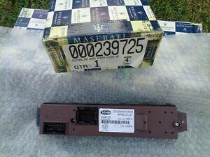 MASERATI 239725 FERRARI 599 LH FRONT DOOR WINDOW SWITCH PANEL OEM NEW
