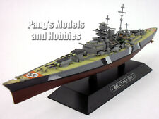 Battleship Bismarck Germany 1/1100 Scale Diecast Metal Model Ship by Eaglemoss