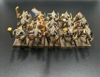 Games Workshop Fantasy Warhammer Lizardmen Saurus Warriors Regiment WFB OOP 2009