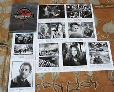 JURASSIC PARK THE LOST WORLD ORIGINAL MOVIE PRESS KIT PHOTOS