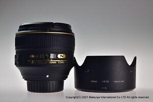 MINT NIKON AF-S NIKKOR 58mm f/1.4G Aspherical SWM