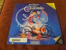 """""""Cinderella"""" Walt Disney Masterpiece Extended Play Laserdisc LD"""