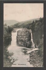 High Force Teesdale 1900s Brittain and Wright Postcard ~ Waterfall ~ Durham