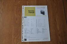 Pye Model 9005 Portable Radio Cassette Recorder Genuine Service Manual.
