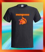 Mongoose Vintage Drag Racing Bicycles Logo Men's Black T-Shirt S M L XL 2XL 3XL