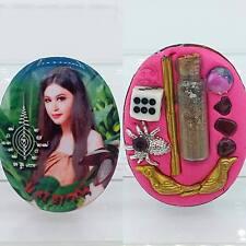 Prai Mae Tani Banana Ghost Lady Thai amulet for Love Charm Talisman Pendant Oval