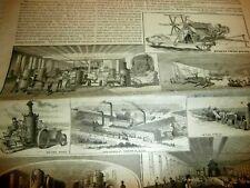 1882 CANTON OHIO C AULTMAN HARVESTING AND THRESHING MACHINERY REPORT