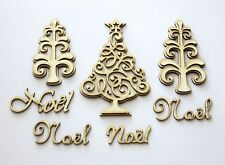 DIE CUT - CHIPBOARD - sapin de Noel - decoration, die cuts