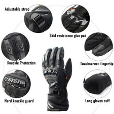 Moto Rider Protective Gloves Touch Screen Winter Warm Waterproof Windproof 4size