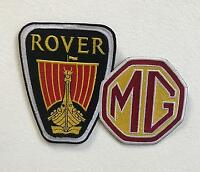 Rover MB Cars Sports Art Badge Clothes Iron or Sew on Embroidered Patch